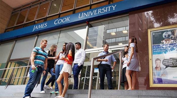James-Cook-University-student